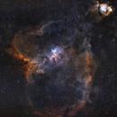 IC 1805 and IC 1795,                                Sharky
