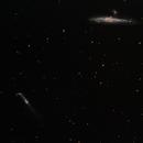 The Whale and the Crowbar - NGC 4631 and NGC 4657 4657,                                Jason Doyle