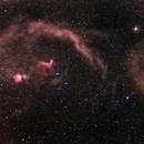 Orion and Surounding Nebulosity,                                Ken Sharp