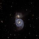 M51 Ausschnitt,                                lucky_s