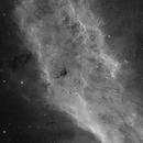 The California Nebula H-alpha - NGC 1499,                                Eric Coles (coles44)