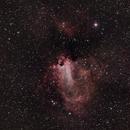 M17 Omega Nebula,                                David Stevenson