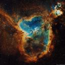 IC 1805 - Heart Nebula,                                Yovin Yahathugoda