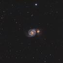 Backyard M51,                                John Willis