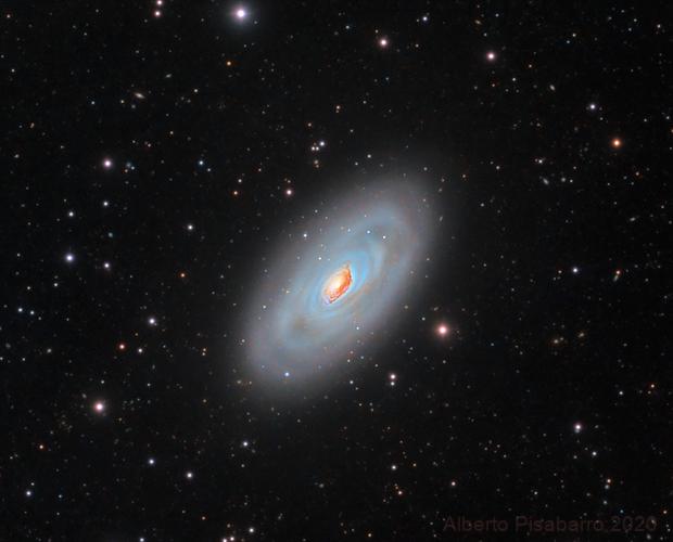 M64 Black Eye Galaxy and IFN,                                Alberto Pisabarro