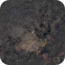 M11 and Barnard11 - Aquila,                                Emmanuel Fontaine