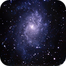 M33 Pinwheel Galaxy - Beyond the storm,                                Roberto Sanchez