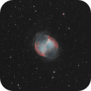 Dumbbell Nebula M27 (only 1h),                                Christopher Teppan
