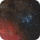 Butterfly Cluster M6 and LBN 1117,                                Frank