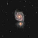 Whirlpool Galaxy,                                rveregin