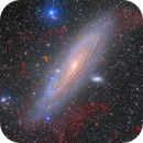 M31 and your Hydrogen Clouds (Reprocessed),                                Alberto Pisabarro
