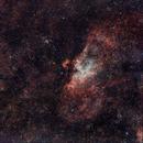 La Nébuleuse de l'aigle M16,                                Georges