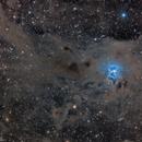 Dust in Iris Nebula,                                Israel Gil Andani