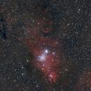 NGC 2264-nébuleuse du cône,                                astromat89