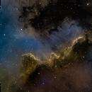 Cygnus wall in narrowband,                                Mike