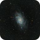M33 -- Triangulum Galaxy HaRGB,                                Richard Beck