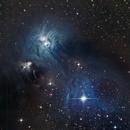 NGC 6726,                                Miles Zhou