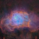 M8 - Lagoon Nebula,                                Janco