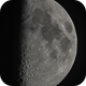 Moon 55,6% illuminated Libration South  6  West 1,                                Siegfried