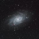 M33 LRGB, Ha, and DSLR combination,                                JD