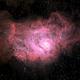M8: lagoon Nebula,                                Michael Caligiuri