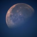 Moon during daylight,                                Matteo Mooren