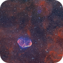 The Crescent and the Soap Bubble in Cygnus,                                CrestwoodSky