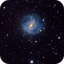 updated : M83  - First light GSO RC8+ Moonlite Focuser,                                Andy 01
