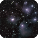 Pleiades Star Cluster,                                Lee Morgan