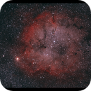 IC1396 widefield - HOO - Canon 1100Da,                                Kenneth Sneis