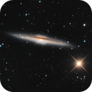 NGC 5746, barred spiral galaxy in Virgo,                                José Joaquín Pérez
