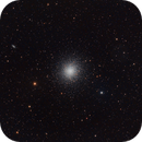 M13: Globular cluster in Hercules,                                FlapAstro