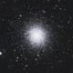 M 13 Great Globular Cluster in Hercules - LRGB,                                Zheng Fu