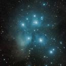 M45 The Pleiades,                                Wes Higgins