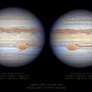 Jupiter's GRS - Jun 2020 vs Jun 2019,                                Seb Lukas