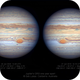 Jupiter's GRS - Jun 2020 vs Jun 2019,                                Seb Lukas