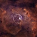The Bubble Nebula,                                Ola Skarpen SkyEyE