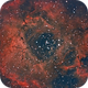 The Rosette Nebula,                                Lee