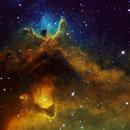 Heart of the Soul Nebula (Public Data Pool by Chris Gomez),                                Jim Matzger