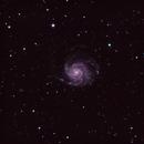 M101 The Pinwheel Galaxy,                                Prea