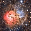 M20 Trifid Nebula,                                Erik