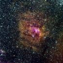 NGC6735 Bubble Nebula - Narrowband HSO,                                GregZ