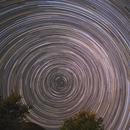 Star Trails - August 11, 2020,                                Benjamin Law