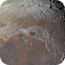 2020.8.9 - 65-panel mosaic of Moon in color,                                周志伟