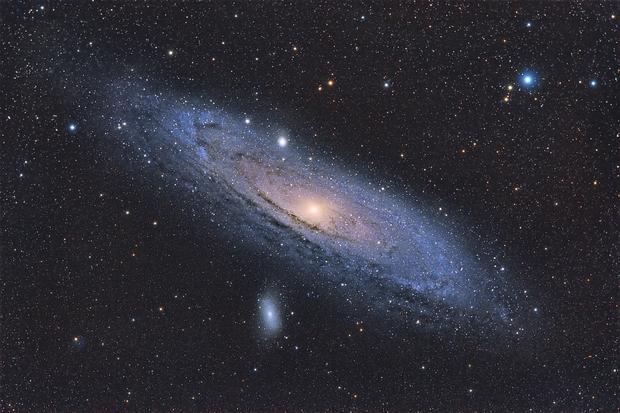 M31 Andromeda Galaxy,                                Andrea Pistocchini - pisto92