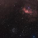 NGC 7635 la bulle et messier 52,                                echosud
