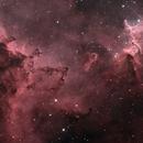IC1805 - Melotte 15 - Ha-(Ha+R)GB,                                Tiflo