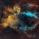 SH2-157  Lobster claw nebula,                                Arnaud Peel