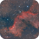 The Wall in NGC7000,                                Eric Kallgren