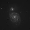 M51 Question Mark Galaxy,                                Vincenzo